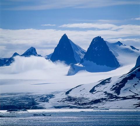 Alpine mountains